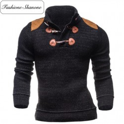 Fashione Shanone - Pull col montant avec épaulettes