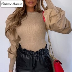Fashione Shanone - Blouse with puff sleeves