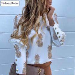 Fashione Shanone - Pineapple blouse