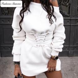 Fashione Shanone - Robe sweat corset