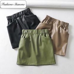 Fashione Shanone - Jupe en cuir