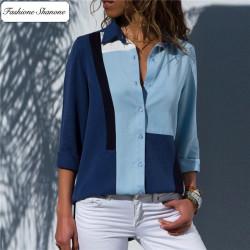 Fashione Shanone - Blue shirt