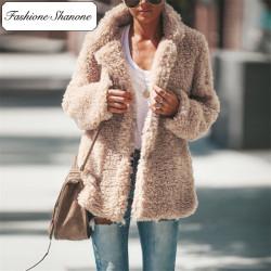 Fashione Shanone - Manteau teddy bear