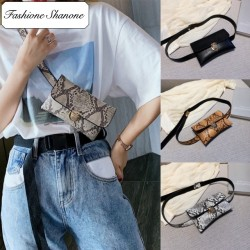 Fashione Shanone - Snake belt bag