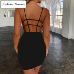 Fashione Shanone - Robe moulante dos nu