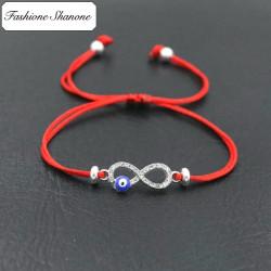 Fashione Shanone - Bracelet infini oeil