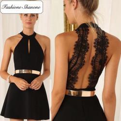 Fashione Shanone - Robe avec dos en dentelle