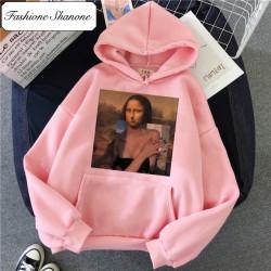 Fashione Shanone - Topless La Joconde hoodie