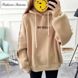 Fashione Shanone - Beige hoodie