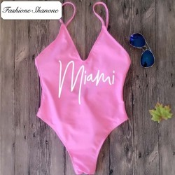 Fashione Shanone - Miami one piece swimsuit