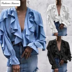 Fashione Shanone - Blouse à froufrou