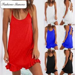 Fashione Shanone - Robe avec dos décolleté