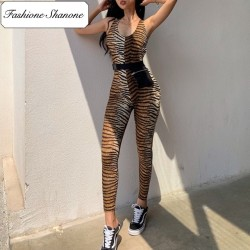 Fashione Shanone - Fitness tiger jumpsuit