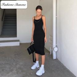 Fashione Shanone - Mid-length black dress