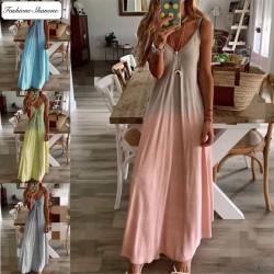 Fashione Shanone - Robe longue dégradée