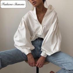 Fashione Shanone - Lantern sleeves shirt