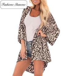 Fashione Shanone - Kimono léopard