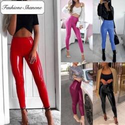 Fashione Shanone - Legging en vinyle