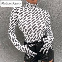 Fashione Shanone - T-shirt manches longues avec gants