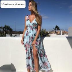 Fashione Shanone - Robe longue fleurie