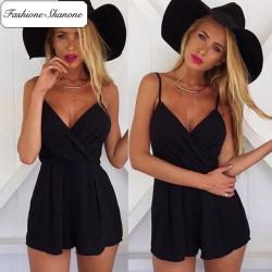 Fashione Shanone - Combinaison short noire