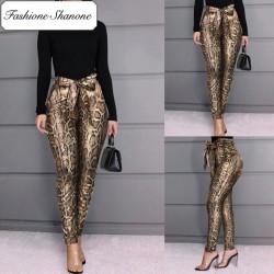 Fashione Shanone - Pantalon taille haute serpent