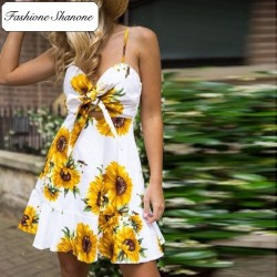 Fashione Shanone - Robe tournesol