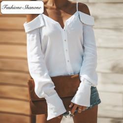 Fashione Shanone - Blouse épaules dénudées