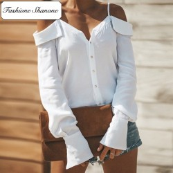 Fashione Shanone - Off shoulder blouse