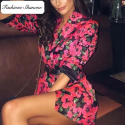 Fashione Shanone - Floral blazer dress