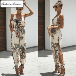Fashione Shanone - Floral jumpsuit