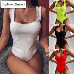 Fashione Shanone - Ruffle one piece swimsuit