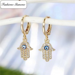 Fashione Shanone - Hand of Fatima earrings