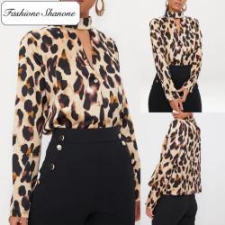 Fashione Shanone - Leopard blouse