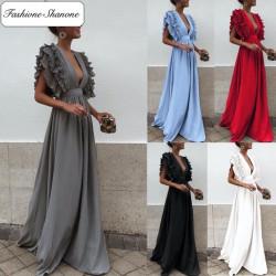 Fashione Shanone - Maxi frilly dress