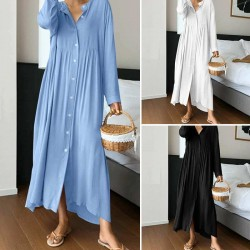 Fashione Shanone | Robe casual boutonnée