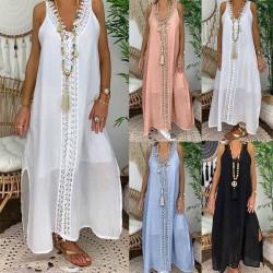 Fashione Shanone | Robe longue col V