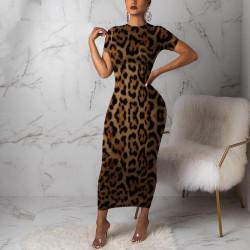 Fashione Shanone | Leopard maxi dress