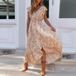 Fashione Shanone | Robe longue fleurie