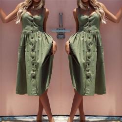 Fashione Shanone | Robe mi-longue à bretelles
