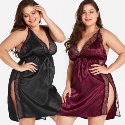 Fashione Shanone | Plus size lace nightie