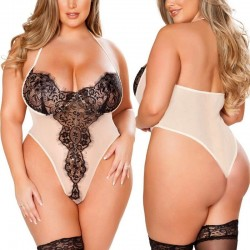 Fashione Shanone | Plus size lace bodysuit