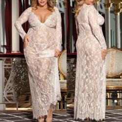 Fashione Shanone | Nuisette en dentelle grande taille
