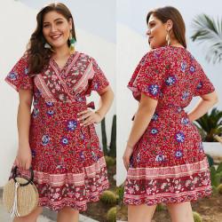 Fashione Shanone | Robe courte grande taille
