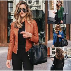 Fashione Shanone | Veste en cuir