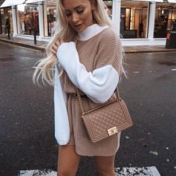 Fashione Shanone   Sweater dress