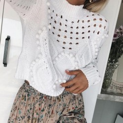Fashione Shanone   Round neck sweater