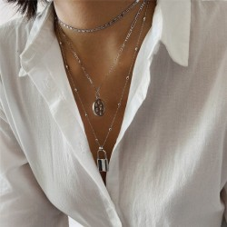 Fancy chain necklace