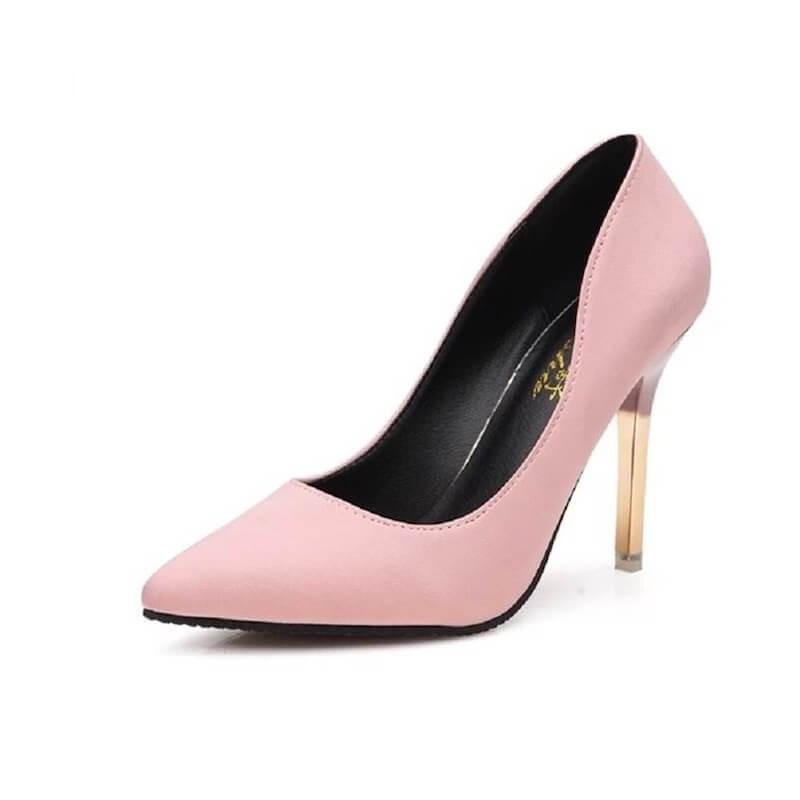 Fashione Shanone | Golden heels pumps