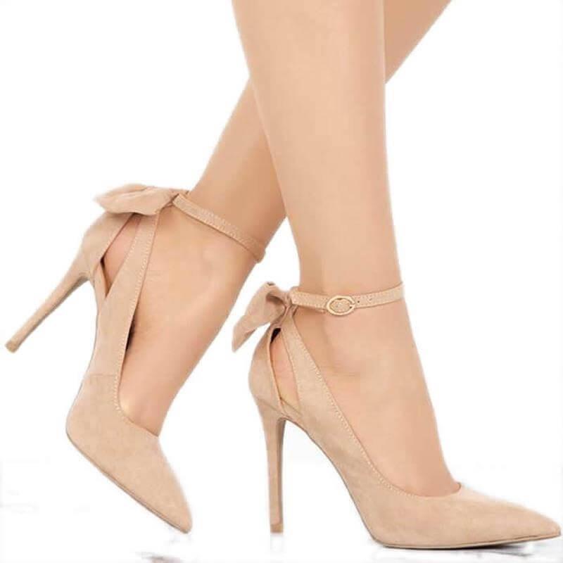 Fashione Shanone   Bow knot pumps